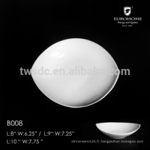 """Vaisselle de porcelaine chinoise & plats assiettes en céramique & 10.5 """"assiette B008"""