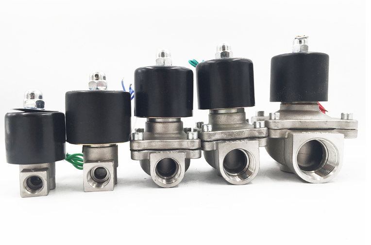 Stainless Steel Normally Closed Unid Type Solenoid Valve