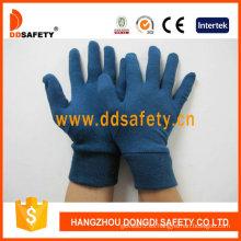 Guante de algodón azul oscuro (DCH216)