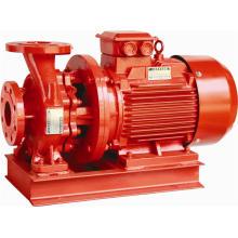 Pompe centrifuge horizontale de lutte contre l'incendie (XBD)