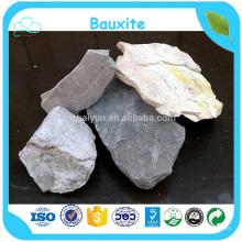 Haute qualité 60% -95% minerai de bauxite blanc naturel