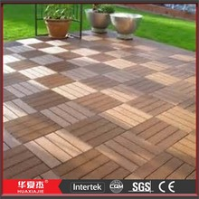 Antislip WPC Composite Decking Flooring Covering for Outdoor Garden