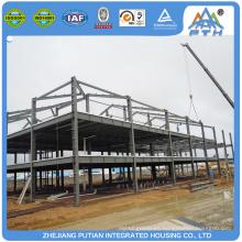 2016 prefabricados baratos casa de la estructura de acero