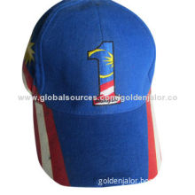 baseball cap, 100% Cotton Twill, embroidery on the cap