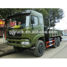 Dongfeng 6X6 off road military cargo box truck for heavy duty loading