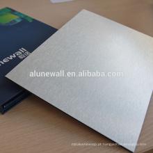Painel traseiro composto de alumínio de Plastice da tevê