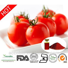 100% natural mejor precio polvo de extracto de tomate licopeno1% -10% a granel