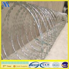 Galvanisé Razor Wire Flat Wrap (XA-GW017)