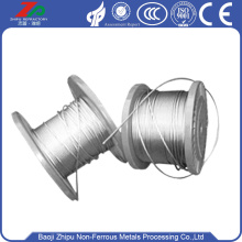 silver 2.5 diameter Tungsten Rope