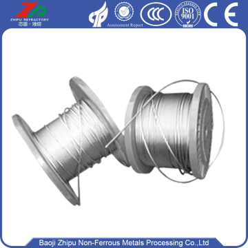 High purity 2.5 diameter Tungsten Rope