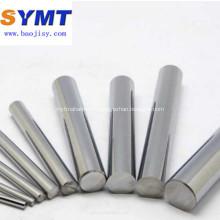Barre de tungstène pure polie Dia10mm