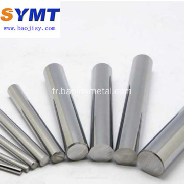 Dia10mm Cilalı Saf Tungsten Bar Stoku