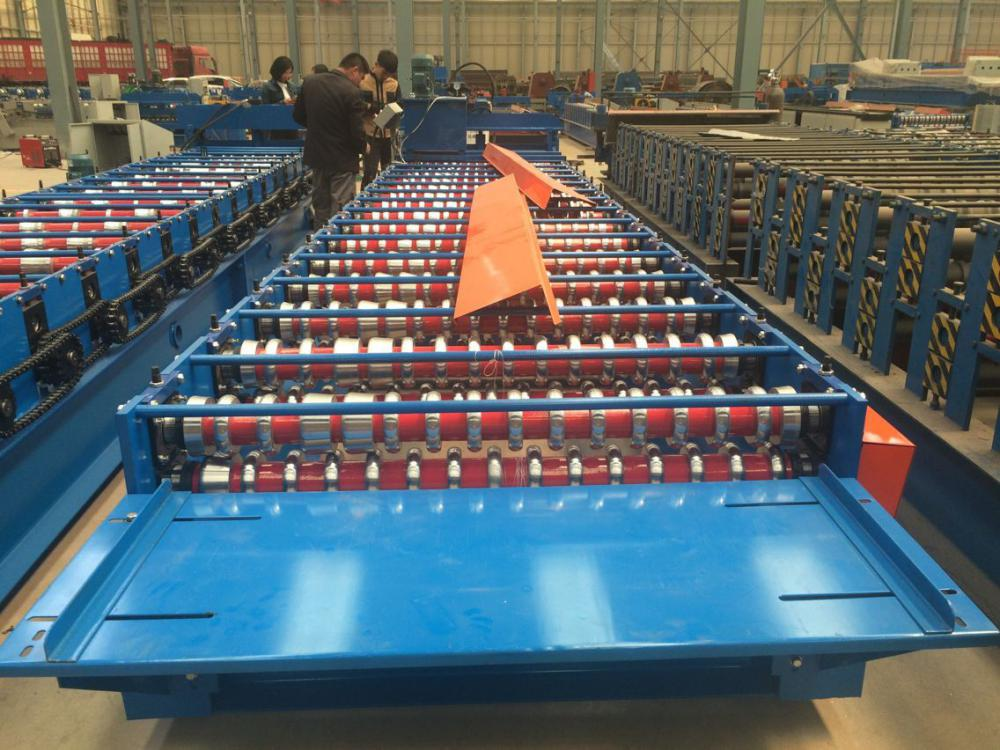 Corrugated roof sheet roll forming machine (2)