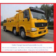 Motor Cycke Parts Heavy-Duty HOWO Tow Truck Wrecker for Sale