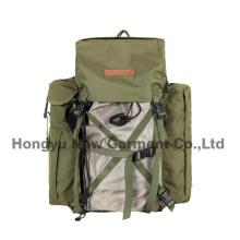 Sac à dos en camouflage en tissu polyester avec revêtement en PVC (HY-B098)