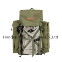 Polyester Fabric Camouflage Backpack with PVC Coating (HY-B098)