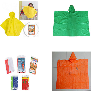 Factory Direct Full over printing Kinder regenponcho