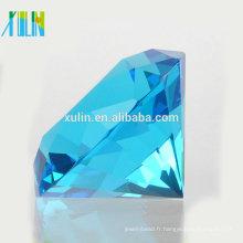 Charm aigue-marine Crystal Diamond Jewelry Faveurs de mariage