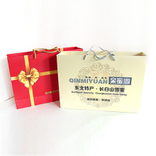 Eco Recycle Durable Gift Bag Paper With Handle