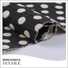 Custom oem Different kinds of fashion jacquard polka dot fabric