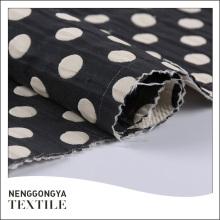 Oem personalizado Diferentes tipos de tecido de bolinhas de moda jacquard