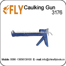 steel frame aluminium handle manual power caulking gun
