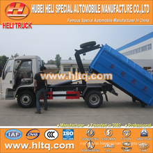 FOTON FORLAND small tank 4X2 4.5 cbm 98hp rubbish garbage truck new style hot selling in China