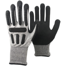 NMSAFETY cut resistant high impact protective gloves