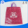 logo printed plastic bag with die cut