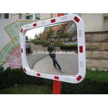 40x60cm plástico outdoor tráfego reflexivo quadrado espelho convexo