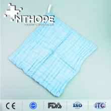 surgical gauze lap with X-ray detectable thread
