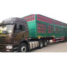 Продовольственный грузовик 3-х осный полуприцеп с кузовом