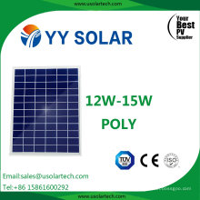Mini 12W Poly Solar Panel with Best Price