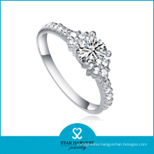 High Quaility Filigree 925 Sterling Silver Ring for Ladies (R-0127)