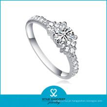 Alta qualidade filigrana 925 anel de prata esterlina para senhoras (r-0127)