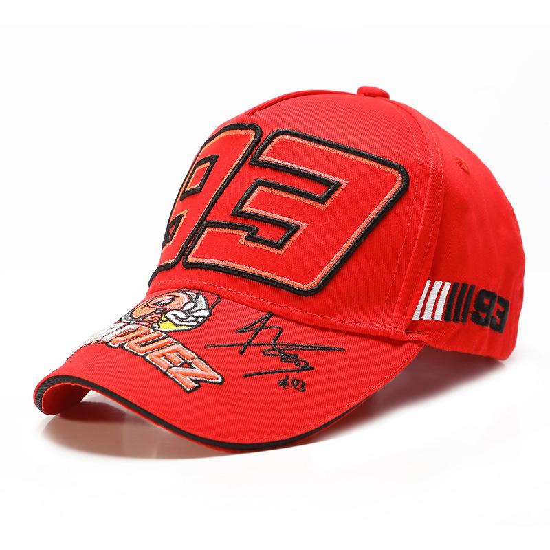 Embroidered hat racing hat baseball cap cap cap (3)