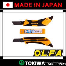OLFA faca perfeita com lâmina de carregamento automático e alça de aperto de plástico e borracha. Feito no Japão (cortadores de olho)