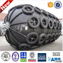 Factory direct sale Pneumatic Marine Rubber Fenders for boat, ship, vessel