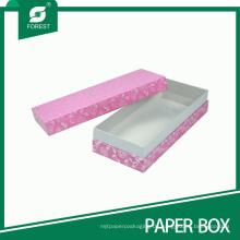 Fabrik Großhandel Rosa Geschenkboxen für Schmuck Verpackung