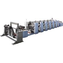 Máquina de impresión Flexo de alta velocidad de control de microordenador