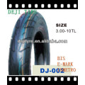 motorcycle tyre /tube/tubeless 300-10 T/T tubeless tire