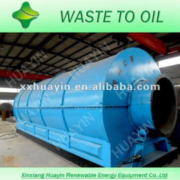 высокий выход масла отходов линия пластичная рециркулируя с CE и ISO