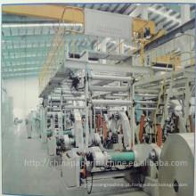 Linha de produção de papel cartão composto