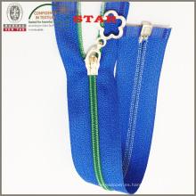 Cremallera de nylon de color para el equipaje (# 3)