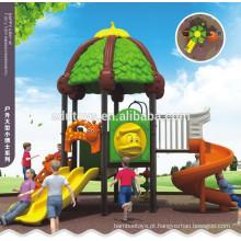 Padrões europeus telhado verde plástico exterior parque infantil