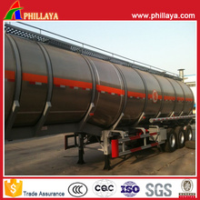 Tanque de acero inoxidable del camión del camión cisterna del combustible