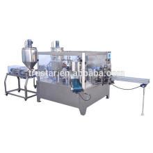 Machine de conditionnement de sacs de prémélange de type rotatif pour poudre