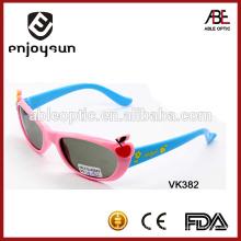 Venda por atacado custom logo kids sunglasses china factory