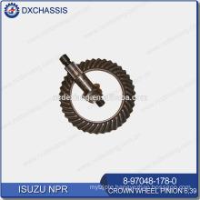 Genuine Auto Spare Parts NPR Crown Wheel Pinion Gear 6:39 8-97048-178-0