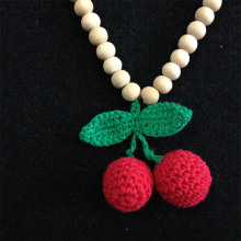 Crochet Necklace Crochet Teething Necklace
